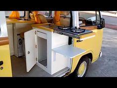 Kombi Trailer, Kombi Camper, Vw Kombi Van, Kombi Home, Volkswagen Karmann Ghia, Vw Bus, Volkswagen Bus Interior, Motorhome Interior, Campervan Interior