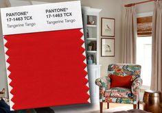2012 Colour of the year: Tangerine Tango