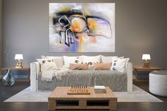 Original Painting Large Paintings,Large Abstract Painting,original painting,large original,oil large painting FY0021