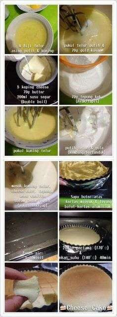 Step by step japanese cheese cake