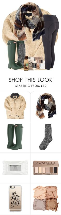 """""""I Just Wanna Enter in a Preppy Fall Contest"""" by katie-1111 ❤ liked on Polyvore featuring TravelSmith, Hunter, Cuddl Duds, Stila, Urban Decay, Casetify and Illamasqua"""