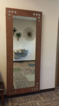 8 foot mirror with your choice of powder-coated color. Make a statement $ 595.00
