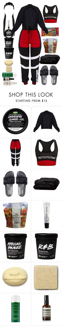 """Untitled #5010"" by allison-syko ❤ liked on Polyvore featuring Olivier Desforges, Bobbi Brown Cosmetics, Sunday Riley and Aesop"