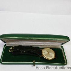 Genuine Minty 1950s ThunderBird Bezel Gold Rolex Precision Mens Watch with  Box #Rolex #Sport