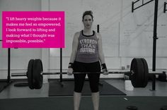 Strength is What�s Beautiful Katelyn..deadlift PR of 210 pounds