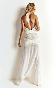 Vestido Longo Composê Amarração Morena Rosa