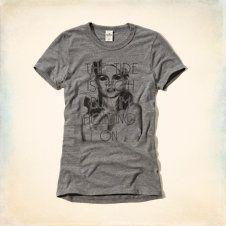 Blondie Lyrics Graphic T-Shirt