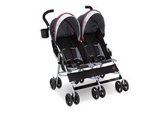 J is for Jeep Brand Scout Double Stroller, Lunar Burgundy Epic family adventures are easy with the J is for Jeep Brand Scout Double Stroller from Delta Children Double Baby Strollers, Twin Strollers, Best Double Stroller, Best Baby Strollers, Twin Pram, Jeep Scout, Color Borgoña, Jeep Brand, Layette