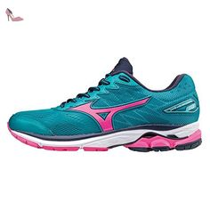Mizuno Wave Rider 20, Aqua/Pink/Navy - Chaussures mizuno (*Partner-Link)