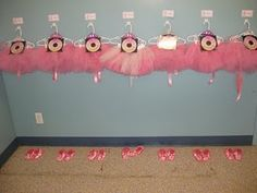 CD's of music and tutu's for little girl party. How CUUTEE!