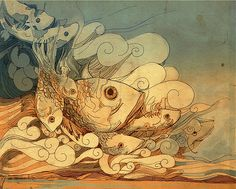 Ilustration of fishes