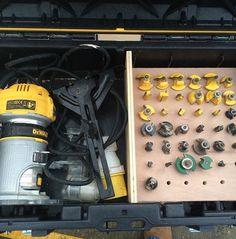 Tool Box Storage, Van Storage, Garage Organization, Dewalt Tough System, Work Trailer, Woodshop Tools, Mobile Workshop, Dewalt Tools, Mobile Storage