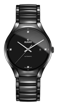 Rado True Automatic Mens Watch is available to buy in our range of watches. Swiss Made Watches, Fine Watches, Analog Watches, Women's Watches, Wrist Watches, Big Ben, Luxury Watches For Men, Audemars Piguet, Automatic Watch
