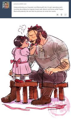 Hahaha I never wanted to romance Blackwall.... He is just so.... Old