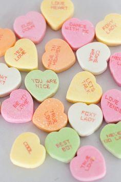 #conversationhearts #candy #valentinesday @weddingchicks