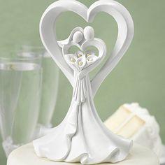 Love's Embrace Cake Top