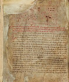 First page of a manuscript, 1377 First Page, 14th Century, Women, Headpiece, Books, Calligraphy, Google, Home, Headdress