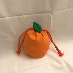 Orange Aesthetic, Cute Bags, My Favorite Color, Handicraft, Orange Color, Light Orange, Sewing Projects, Pouch, Purses