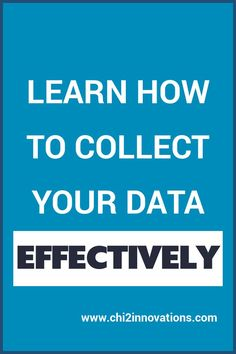 Learn how to collect data effectively and efficiently to reduce errors in your data and get your dataset in great shape right from the beginning with this online course. More than 1.5 hours of video.