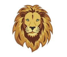 Lion Machine Embroidery Design Lion Design Lion by EmbroidDesigns, $3.00
