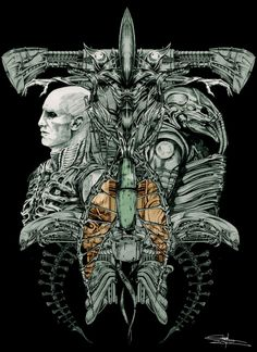 Prometheus-the enginners evolution by ~simsim78 on deviantART