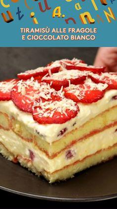 I Love Food, Good Food, Yummy Food, Italian Desserts, Italian Recipes, Tasty Videos, Light Desserts, Tiramisu Cake, Sweet Recipes
