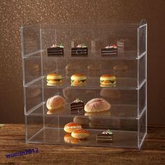 #Acrylic bakery #pastry display case stand #cabinet cakes donuts cupcakes pastrie,  View more on the LINK: http://www.zeppy.io/product/gb/2/111862779536/