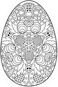 Fin fun coloring pages ~ Easter Coloring Pages eBook: Easter Egg | Coloring Pages ...