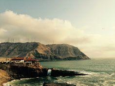 El Salto del Fraile en Chorrillos, Lima
