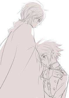 Yuichiro and Mikaela Hyakuya - Owari no Seraph