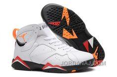 http://www.jordanaj.com/discount-nike-air-jordan-vii-7-retro-mens-shoes-white-black-orange-red-new.html DISCOUNT NIKE AIR JORDAN VII 7 RETRO MENS SHOES WHITE BLACK ORANGE RED NEW Only 81.94€ , Free Shipping!