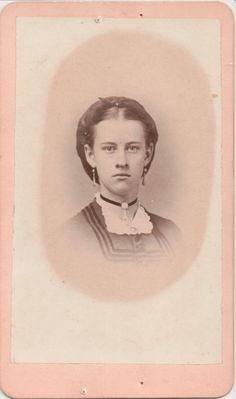 CDV 41: Victorian Women, Female Photographers, Photos, Pictures, Stamp, Image, Art, Craft Art, Stamps