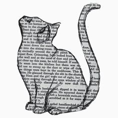 books and cats and books and cats