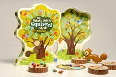 Sneaky Snacky Squirrel game | Design Educational Insights | Illustration Lucia Gaggiotti #illustration #game