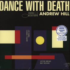 Andrew Hill - Dance With Death  Vinyl-LP Reissue