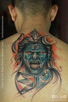 God Tattoos, Forearm Tattoos, Animal Tattoos For Men, Tattoos For Guys, Mahadev Tattoo, Trishul Tattoo Designs, Shiva Hindu, Shiva Tattoo, Buddha Tattoos