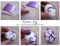 Creator's Joy: Polymer Clay Easter Eggs