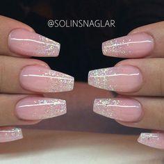 YES PLEASE!! ♡♡♡ @solinsnaglar Beautiful Princess nails