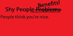 Shy People Problems Tumblr | Shy People Benefits - shy-people Photo