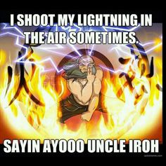 Avatar the last Airbender uncle iroh
