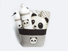c3f762a25ae0 Peekaboo Panda-Baby Bedding Crib Gift Set