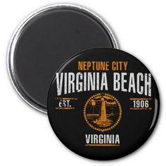 #Virginia Beach Magnet - #beach #travel #beachlife