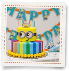 Despicable Me Cake How-To - Party City
