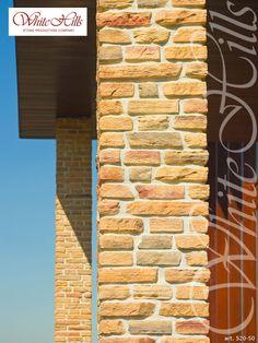 White Hills Verblendziegel Serie Lauter 520-50 (Ziegelfassade) - White Hills facing brick Bricks, Stone, Brick, Rock, Stones, Batu