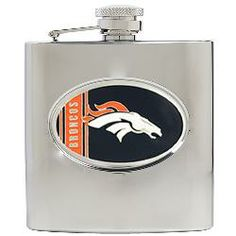 NFL 6oz. Stainless Steel Flask