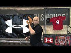 Coverage signals for midfielders. #baseballtips #baseballdrills #baseball #ripken