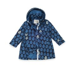 Hatley Nordic Rain Drops Waterproof Raincoat at Wellies and Worms