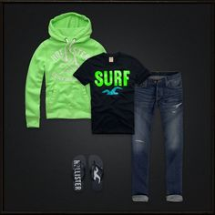 Hollister #Mens. They are very good clothes and i like them and feel good to wear.