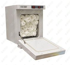 Compact Hot Towel Cabinet with UV Sterilizer with Free 12 Pack of 13 X 13 100% Cotton Towels by Spa Supplier -- Awesome products selected by Anna Churchill