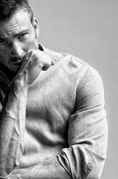 My, Mr Evans. What nice arms you have.<<what nice veins